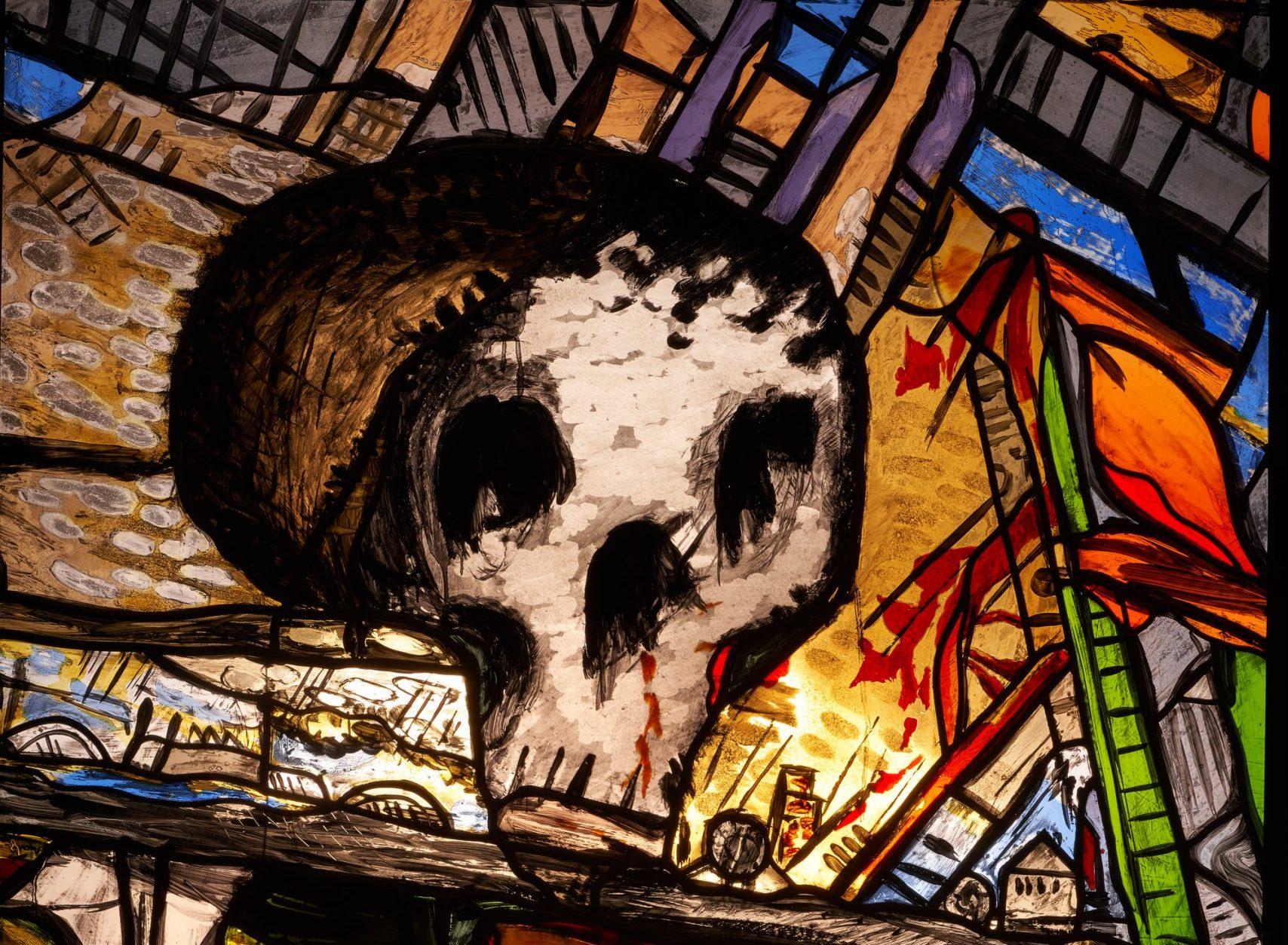 Markus Lüpertz Herbstfenster I