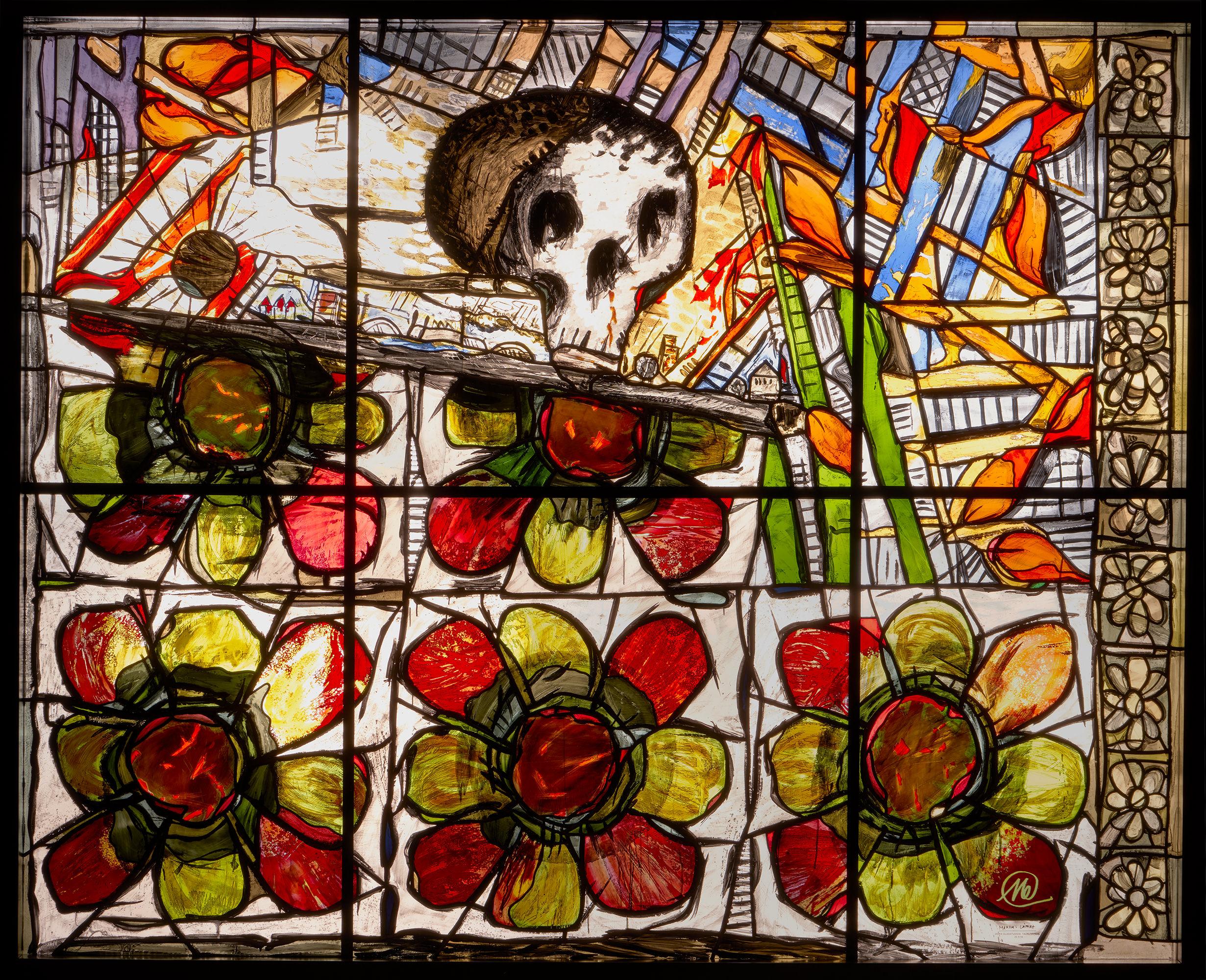 Markus Lüpertz Herbstfenster