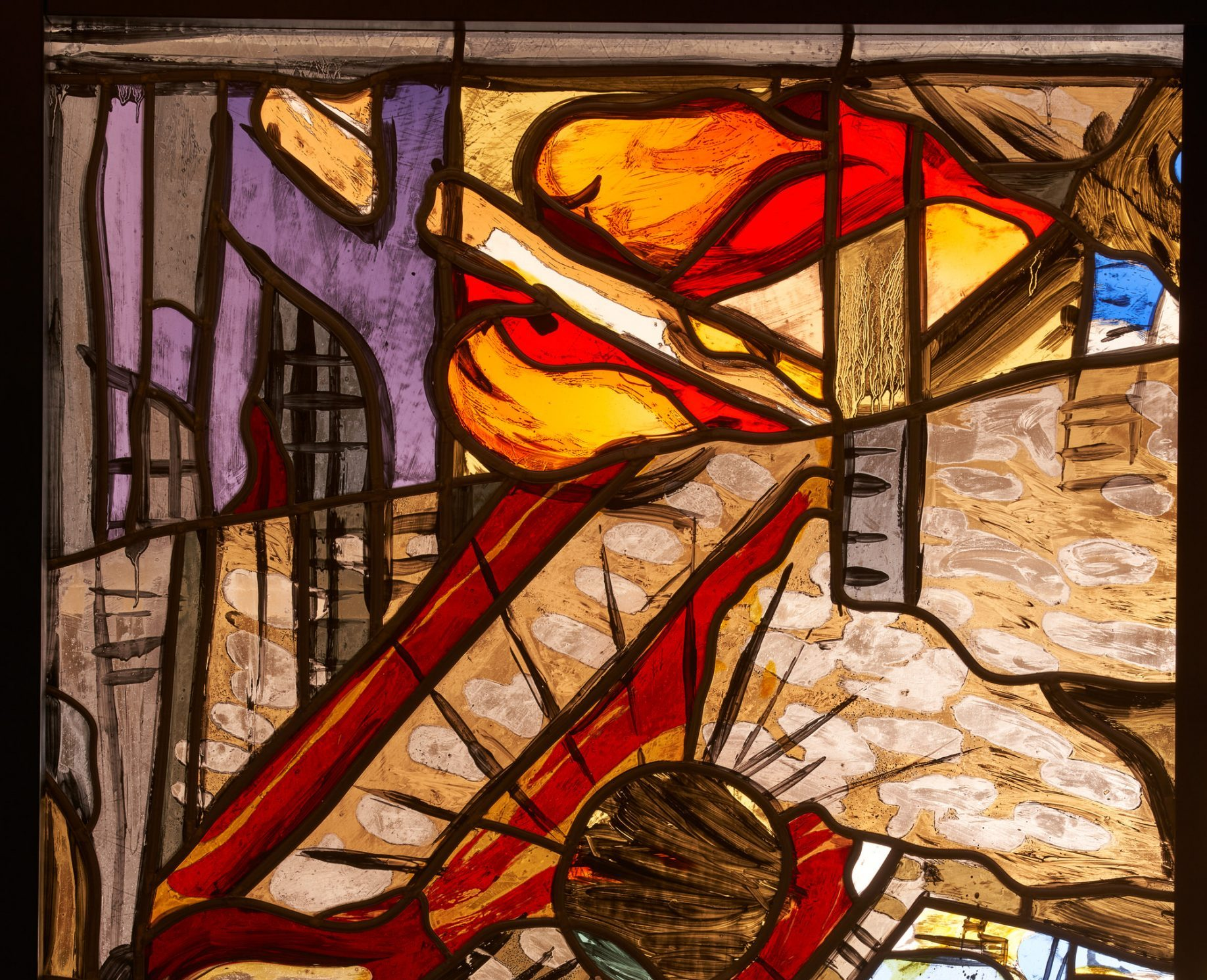 Markus Lüpertz Herbstfenster II